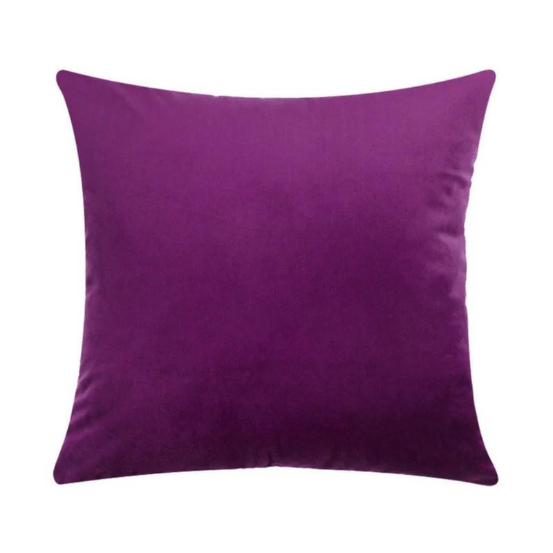 basic velvet cushion cover