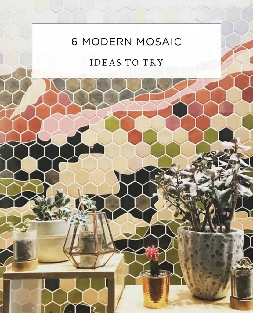6 modern mosaic tile ideas you should