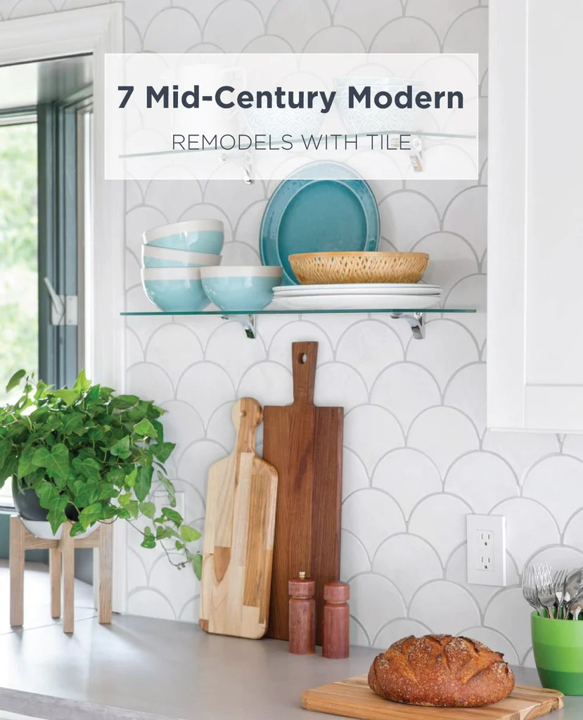 7 mid century modern remodels with