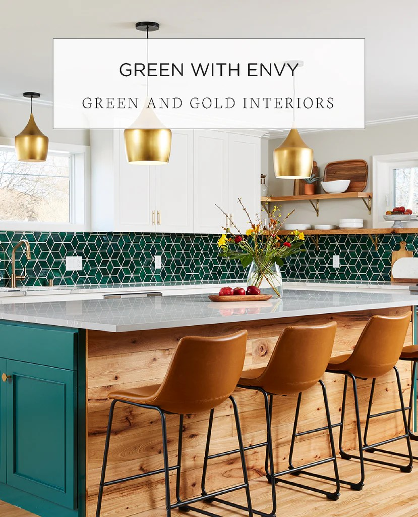 green with envy green gold interior