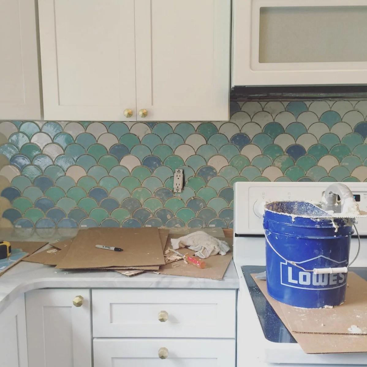 kitchen wall tiles on homepolish