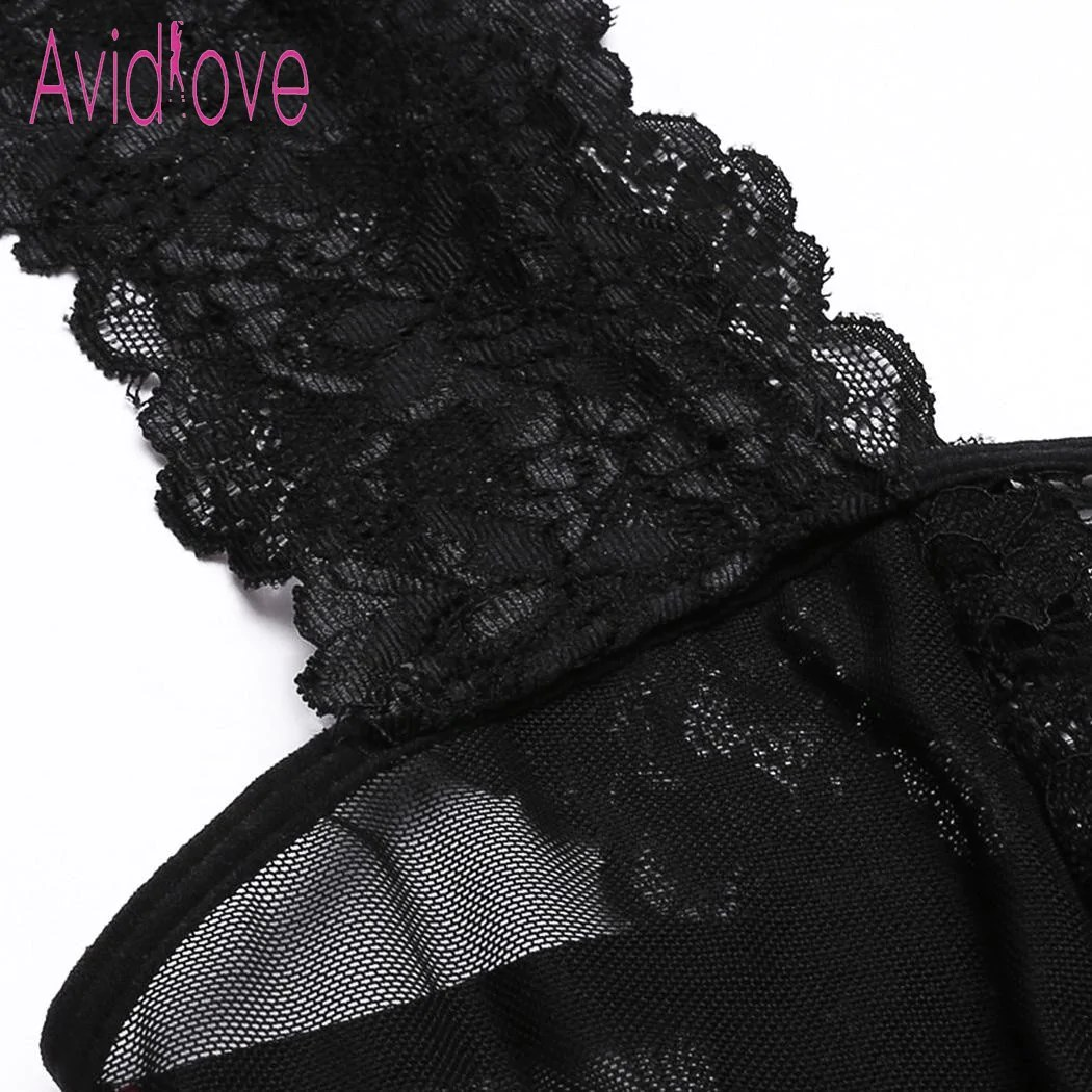 e196e627f37 Baby Doll Floral Lace Night Gown Thick Chick Treasures