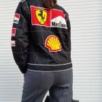 00 S Racing F1 Paded Bomber Jacket Ferrari Marlboro S M Past Out