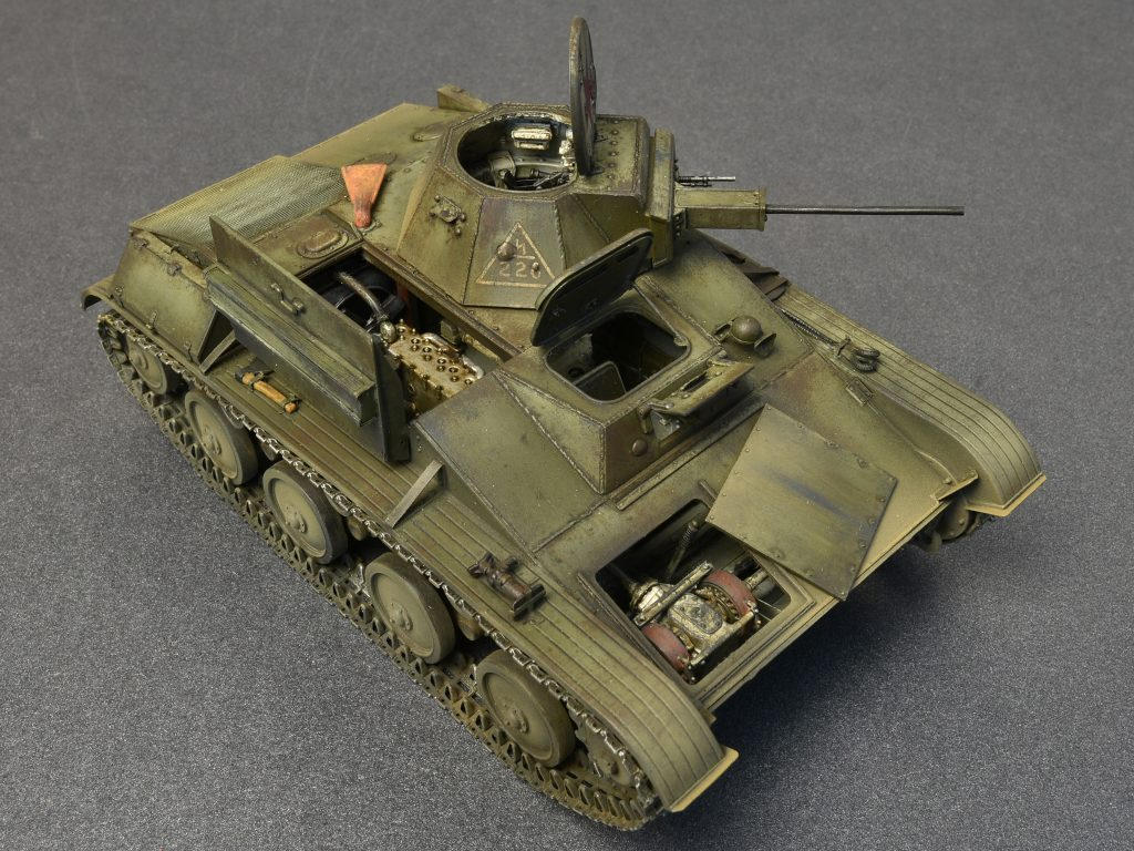 MiniArt 1/35 WWII Soviet T60 Early Series Light Tank w ...