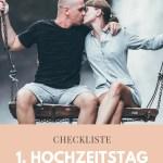 Checkliste Zum 1 Hochzeitstag Bedeutung Und Geschenkideen Beziehungs Shop