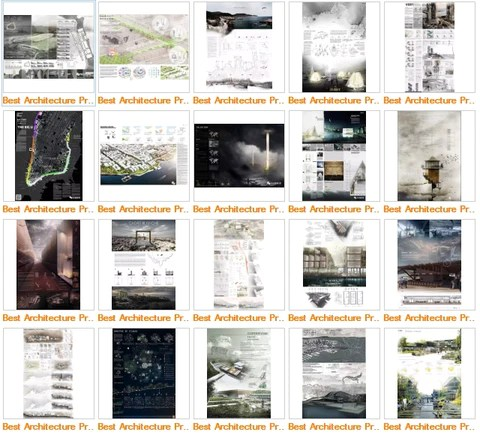 ★Architecture Presentation Ideas