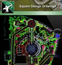 ★Square Design Drawings