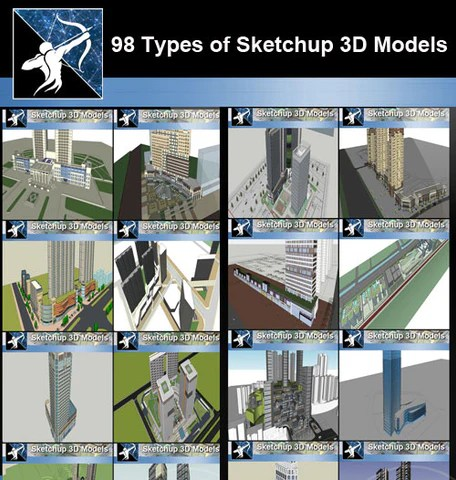 ★Best Sketchup 3D Models Collection