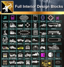 ★Interior Design CAD Blocks