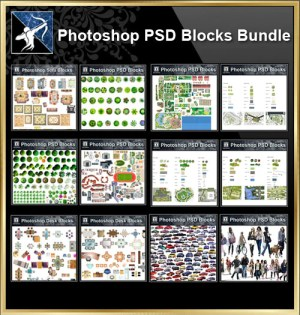 ★Full Photoshop PSD Blocks Collection