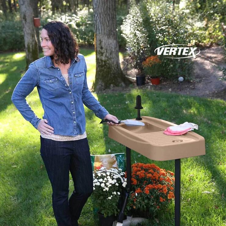 Garden Essentials Outdoor Garden & Utility Sink | Vertex ... on Outdoor Patio Sink id=78679