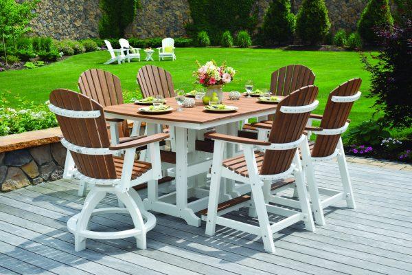 poly furniture amish yard