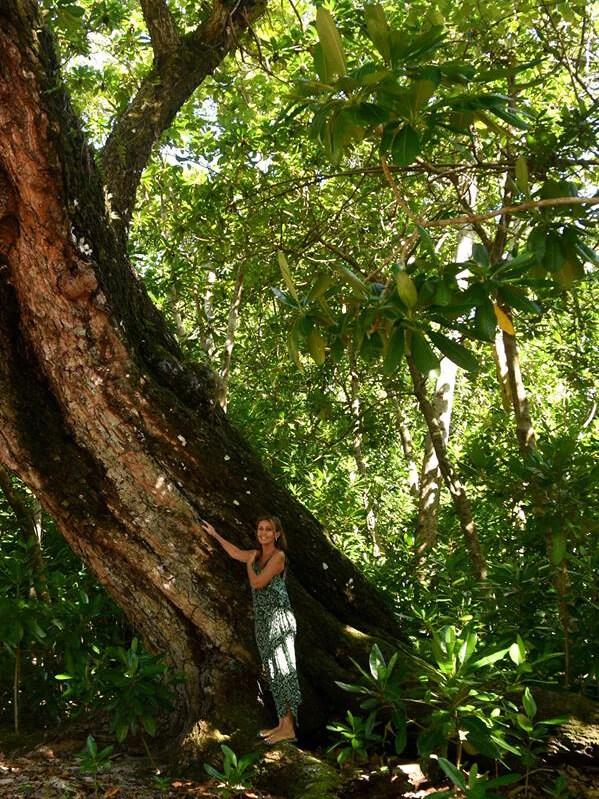 Linda Schofield in Vanuatu - Tamanu Australia