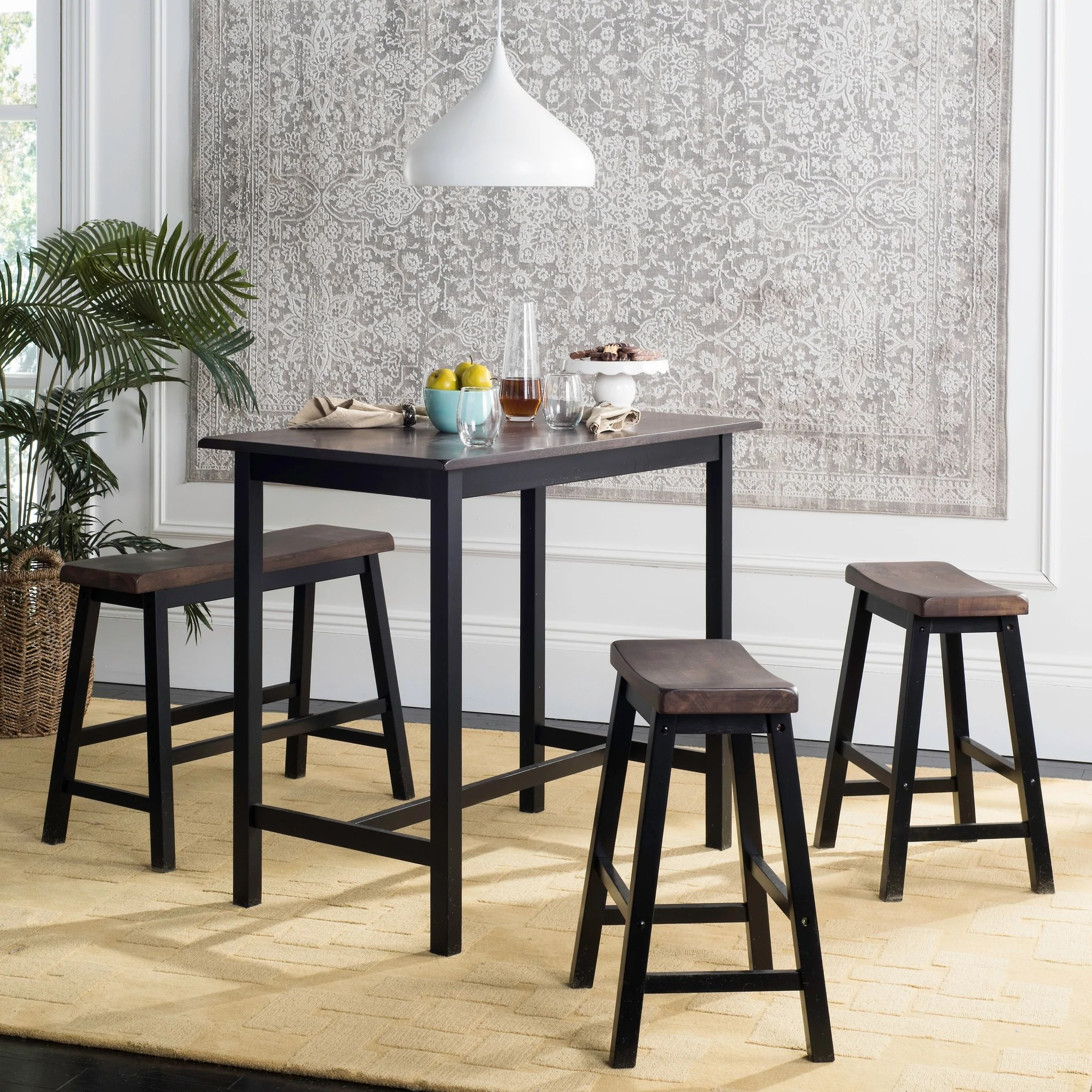 4 Piece Counter Height Bench And Stool Pub Set Handy