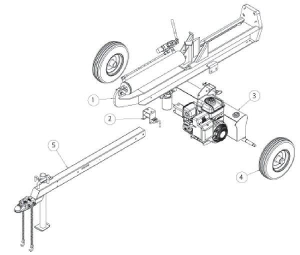 County Line 22 Ton Log Splitter Parts Reviewmotors Co