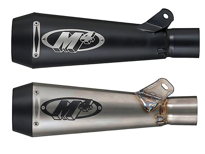 m4 gp full stainless steel exhaust system 08 10 suzuki gsxr 600 75 motostarz usa