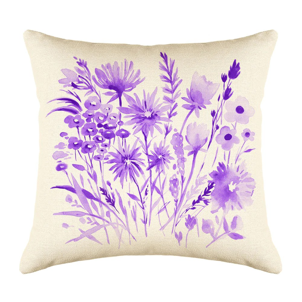lavender throw pillow covers online