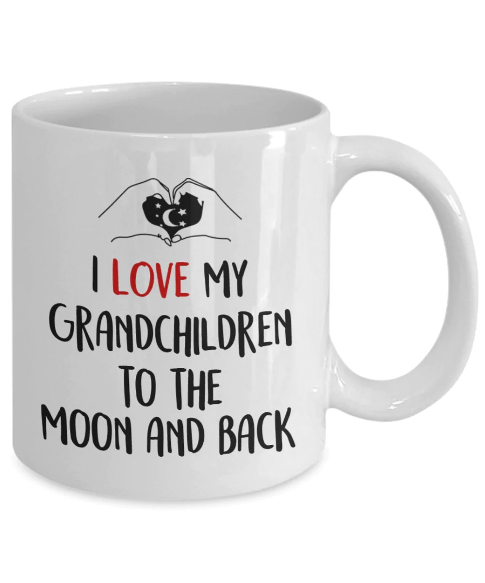 Download I Love My Grandchildren To The Moon And Back , Mug ...