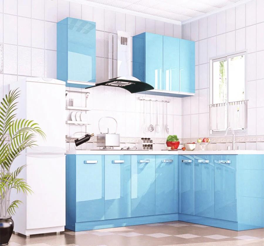 Cuisine Bleu Ciel Best Une Cuisine Bleu Clair With