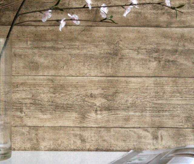 Oak Wood Effect Textured Wallpaper Beige