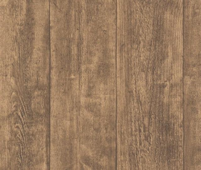 Oak Wood Effect Textured Wallpaper Brown