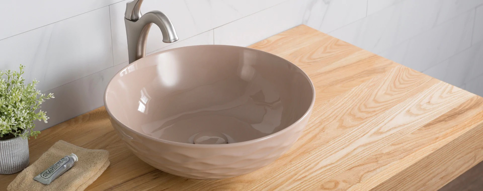 above counter vessel sinks