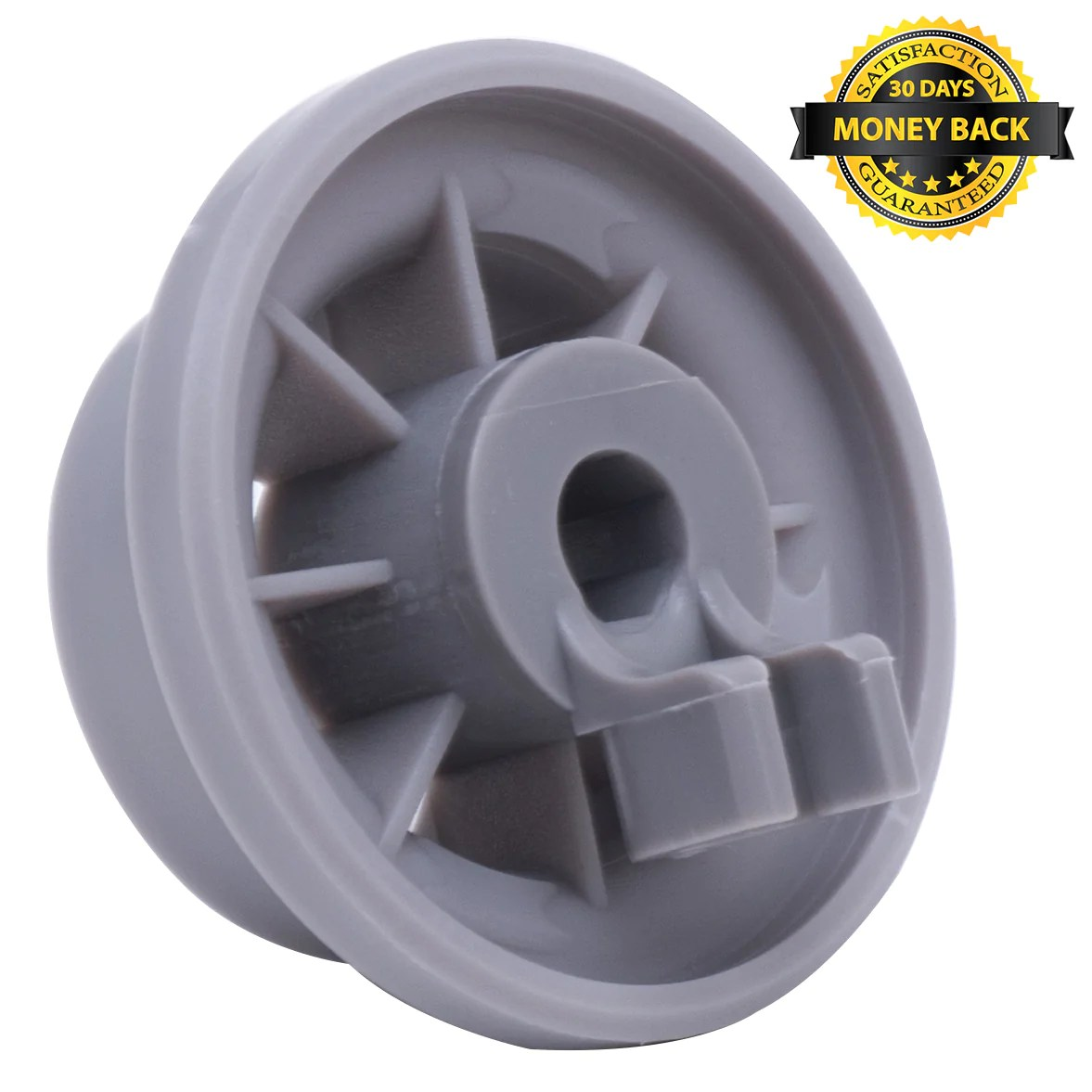 ultra durable 165314 dishwasher lower rack wheel replacement by blue stars exact fit for bosch kenmore dishwasher replaces 00420198 420198