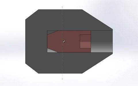 Center of Pressure to Mass Diagram 2