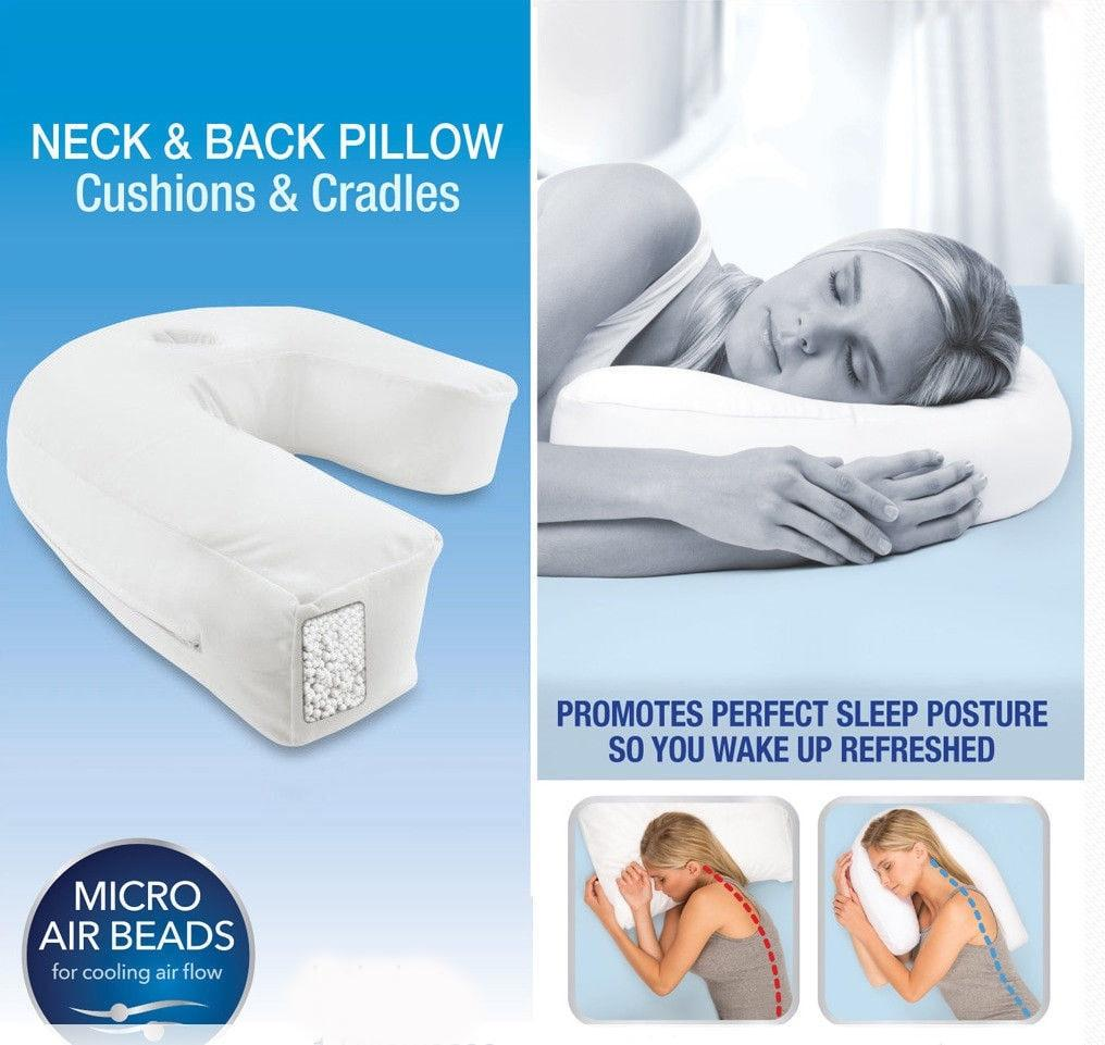 u shaped pillow for neck pain online