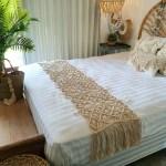 Natural Macrame Bed Runner Canggu Co