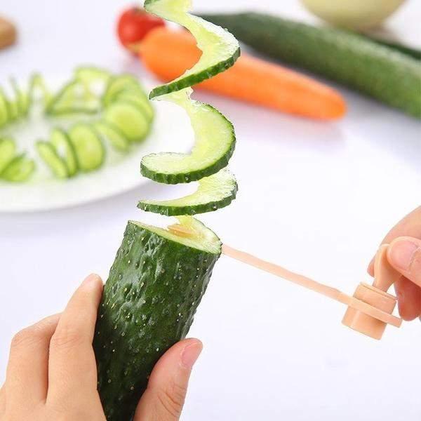 coupe legume en spirale