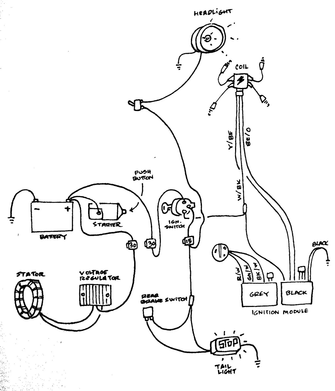 Sporty Wiring How To Biltwell Inc