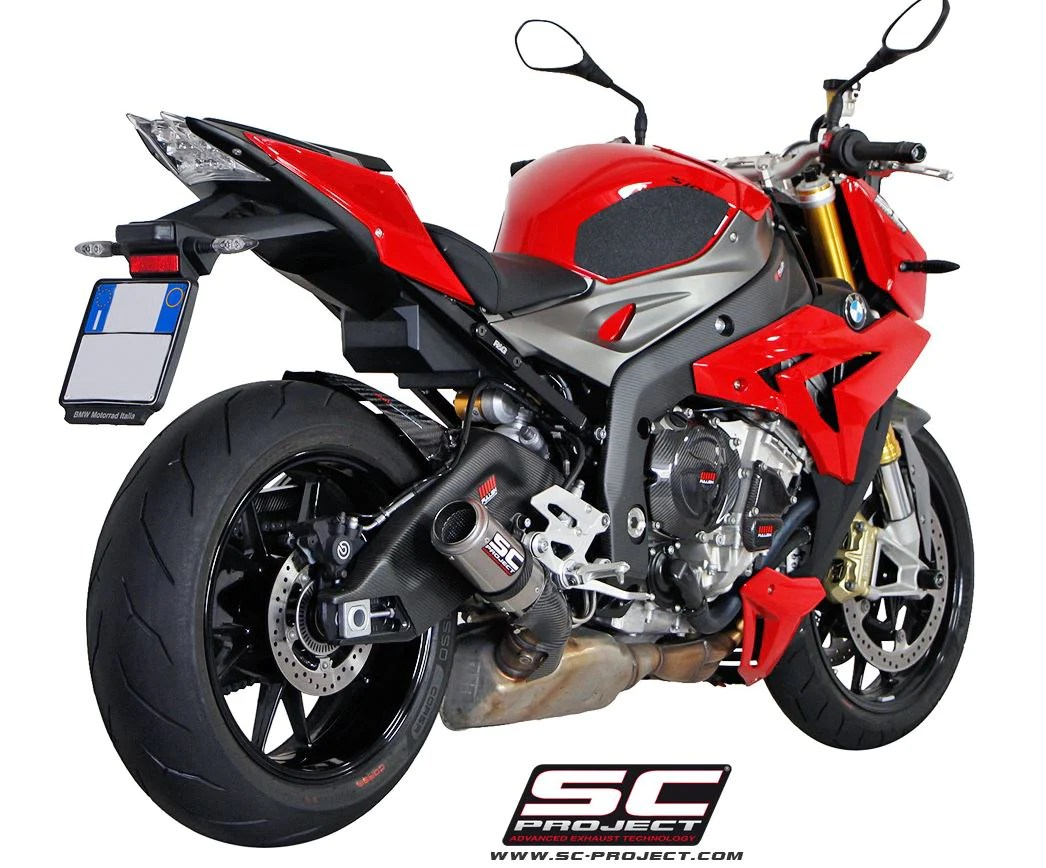 sc project cr t slip on exhaust 10 15 bmw s1000rr hp4 14 16 s1000r