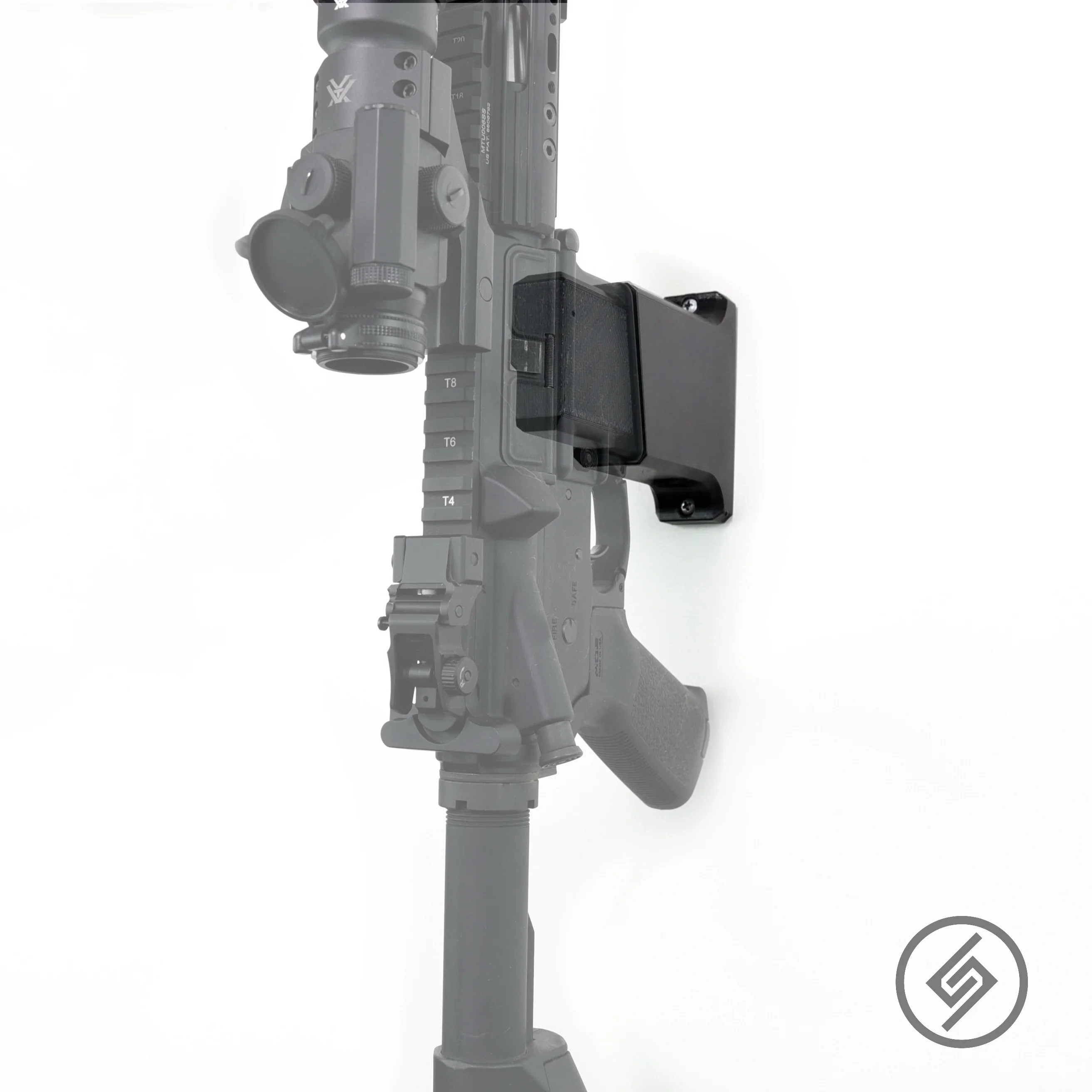 ar 15 vertical mount spartan mounts