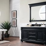 60 Brookfield Antique Black Single Bathroom Vanity