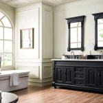 72 Brookfield Antique Black Double Bathroom Vanity