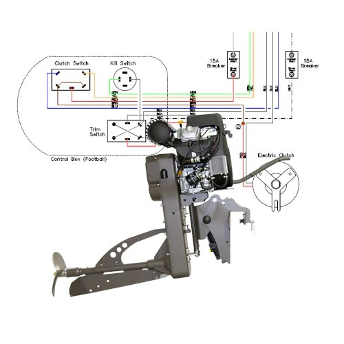 wiring diagram sport merc 25 and 27 kohler for outboard mud