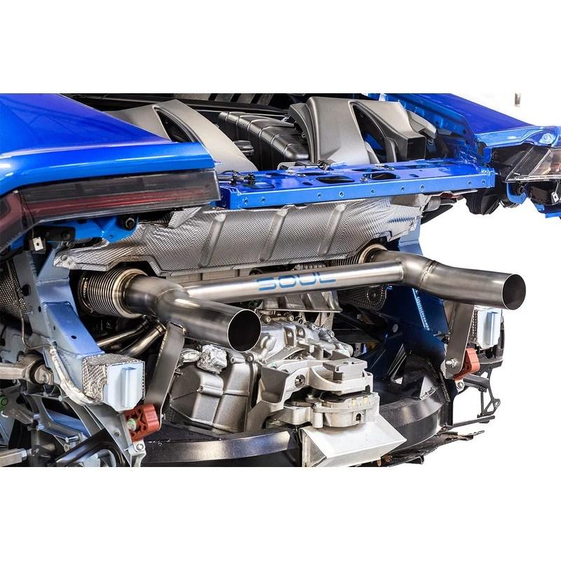 soul performance titanium race exhaust system for lamborghini huracan performante