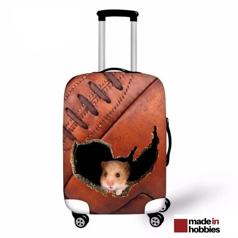 couverture de protection pour valise avec ou sans roulettes