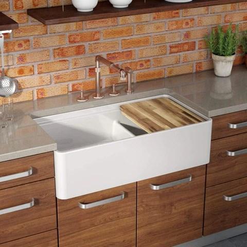 36 farmhouse apron front kitchen sinks
