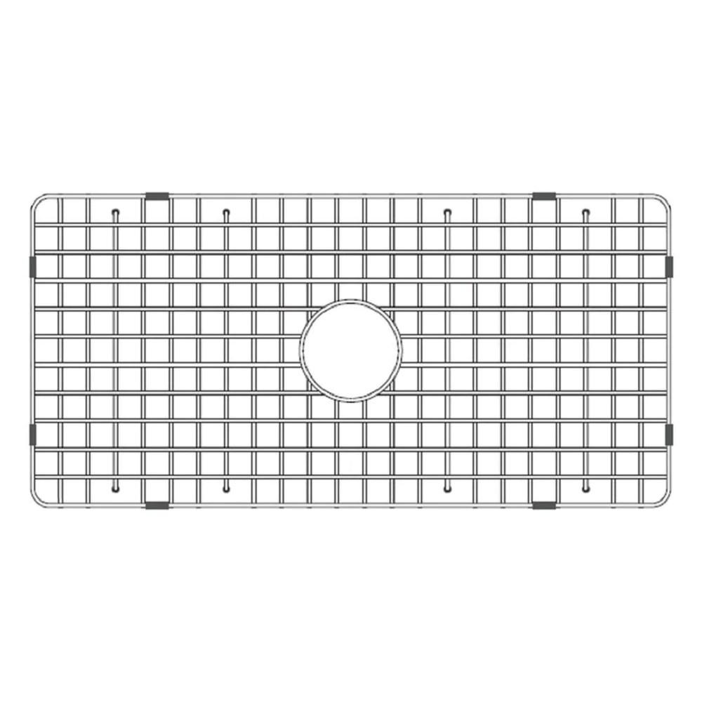 latoscana stainless steel grid for 36 fireclay farmhouse apron sink ssg ltw3619