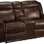 Scorpio Reclining Loveseat With Console Whiskey Brown Leon S