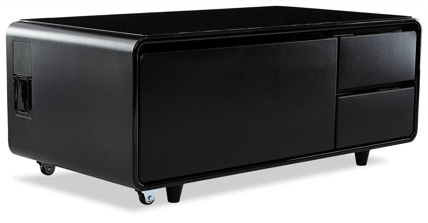 Sobro Smart Coffee Table Black Leon S