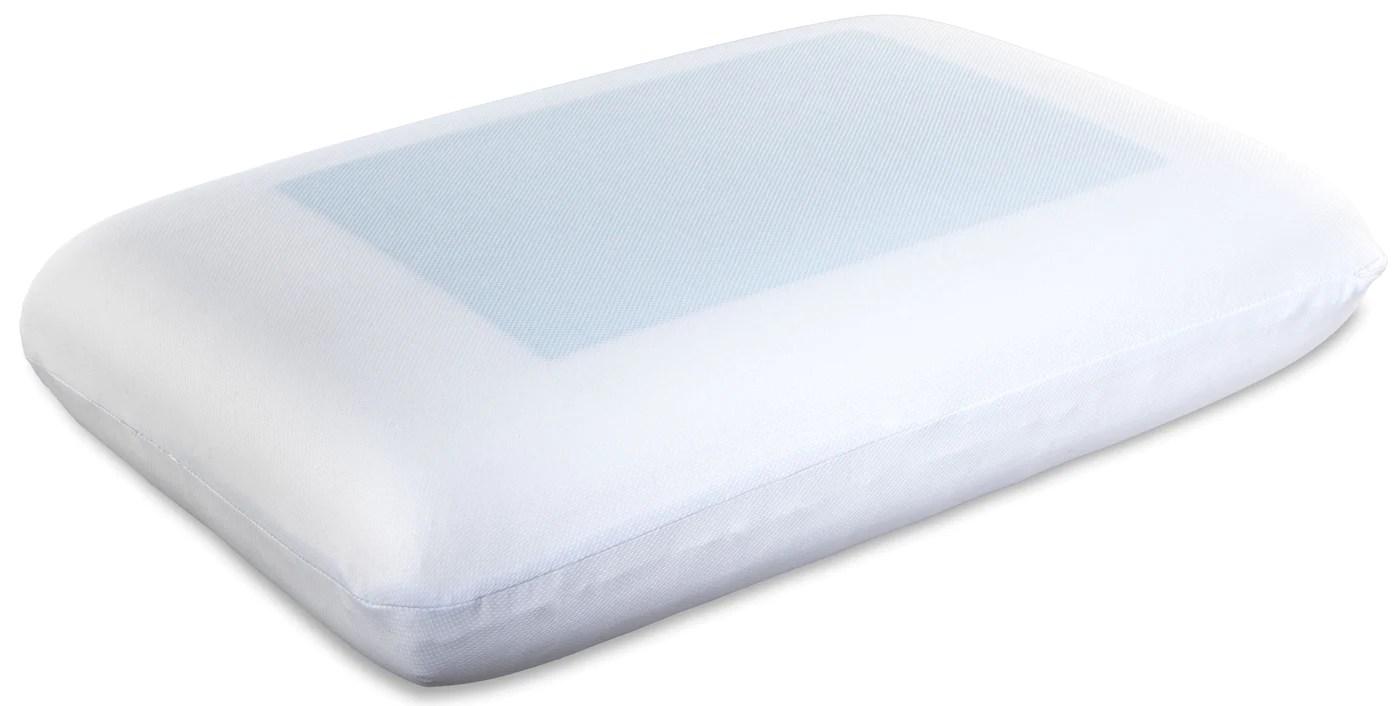 cool gel standard memory foam pillow