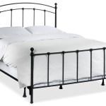 Sanford Queen Bed Dark Grey Leon S
