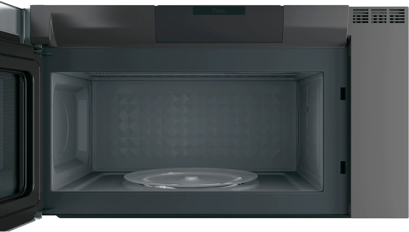 ge profile stainless steel spacemaker over the range microwave 2 1 cu ft pvm2188sjc