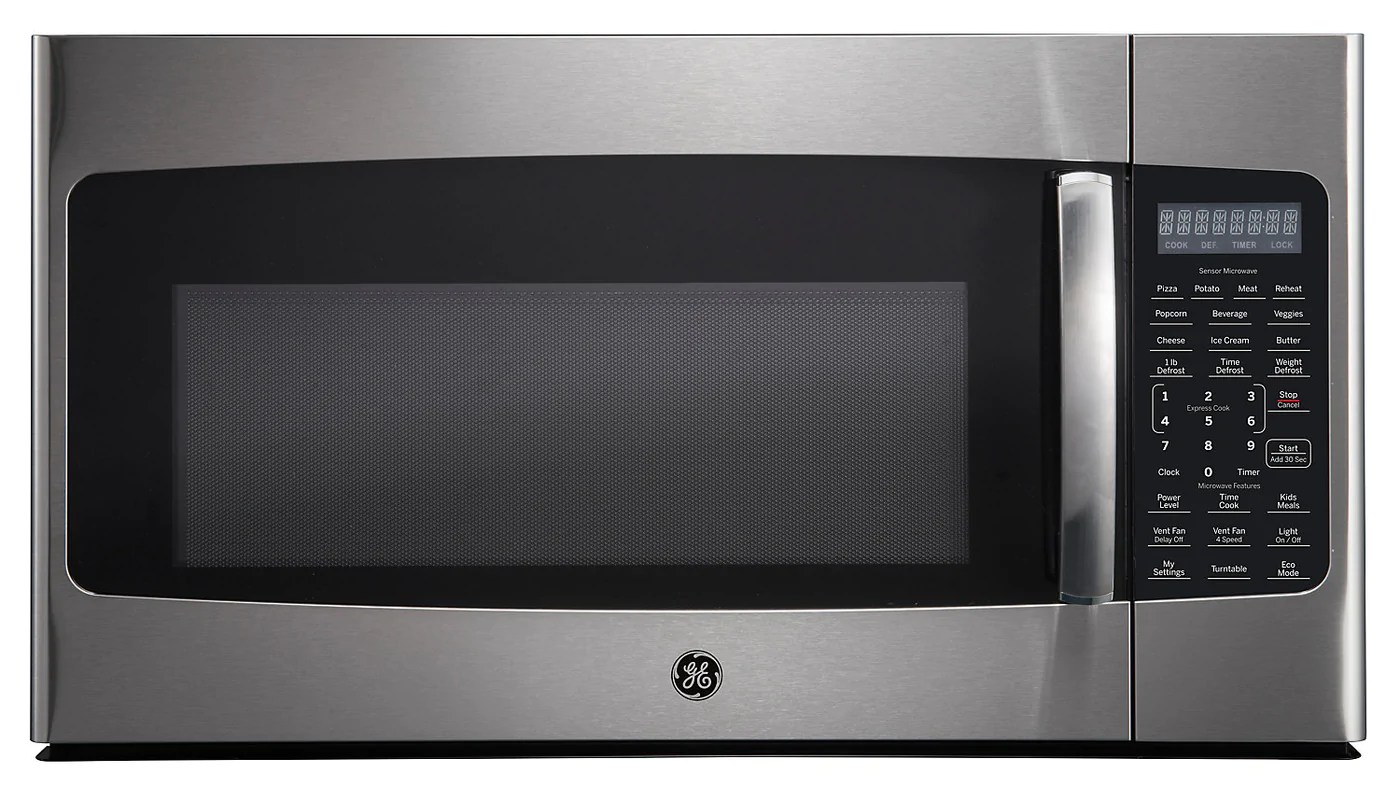 ge 1 8 cu ft over the range microwave jvm2185smss