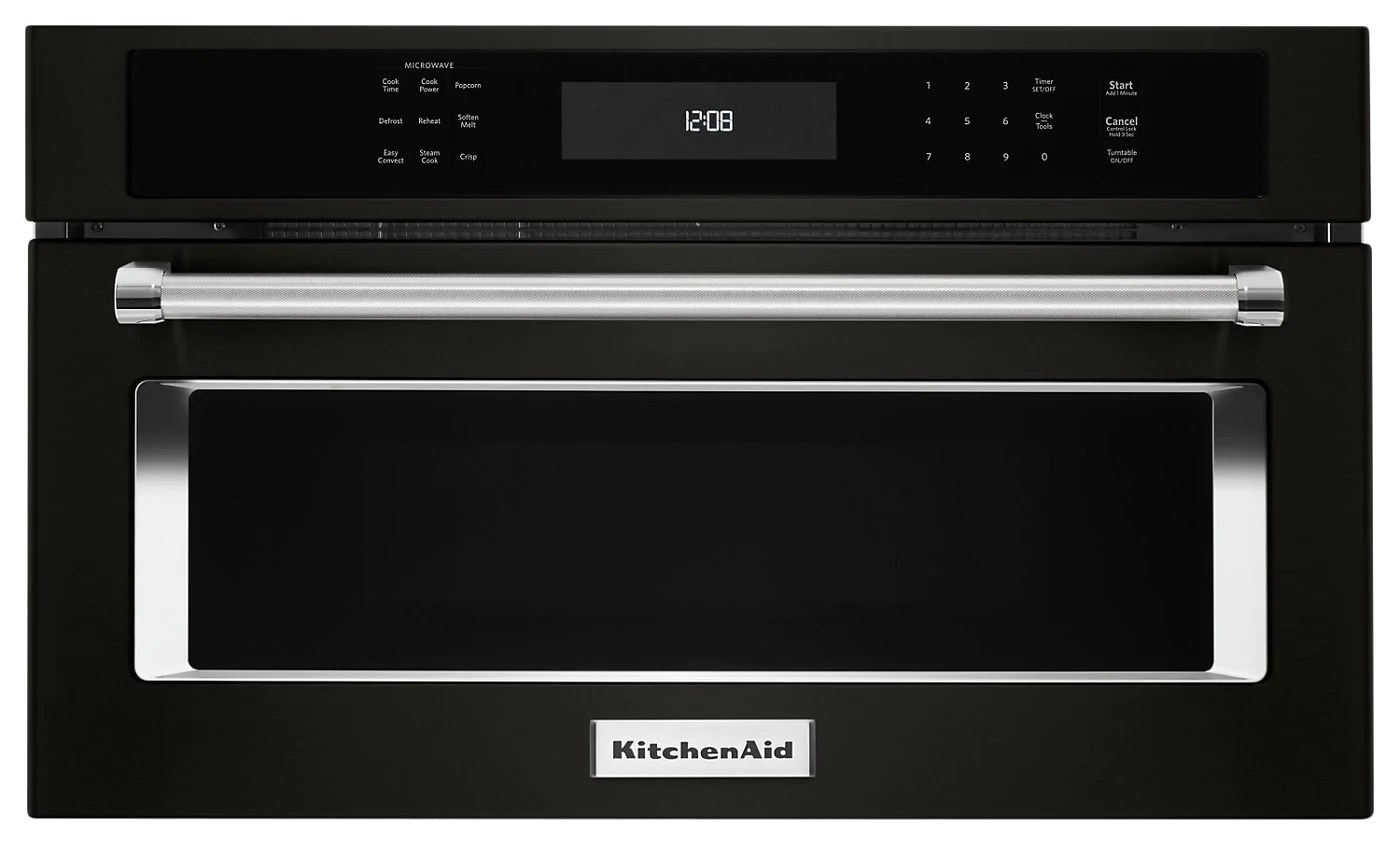 kitchenaid 30 built in microwave oven with convection cooking kmbp100ebs