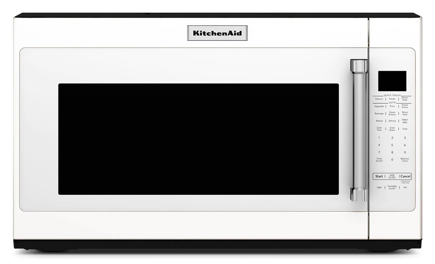 kitchenaid 2 0 cu ft over the range microwave with sensor functions white