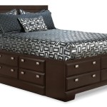 Yorkdale Queen Platform Bed With Storage The Brick